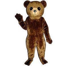 228-Z Big Teddy - Team-Mascots.  See more bear mascot costumes at:  http://www.team-mascots.com/bear-mascot-costumes/bear-228