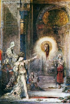 MOREAU, Gustave French Symbolist (1826-1898)_The Apparition 1876