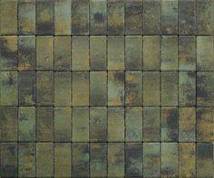 Green - black- yellow paving pads
