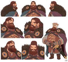 "Robin hood - ""King Richard The LionHeart"", Hong SoonSang on ArtStation at https://www.artstation.com/artwork/mvx1a"