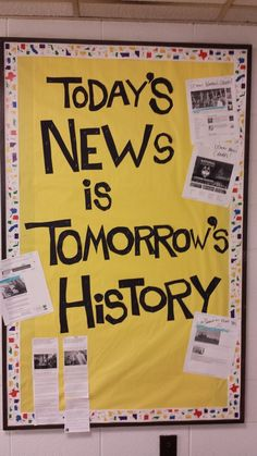 Current events display
