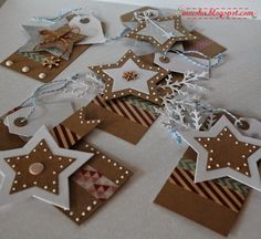 tags Cardmaking, Scrapbooking, Gift Wrapping, Tags, Blog, Gifts, Gift Wrapping Paper, Making Cards, Presents