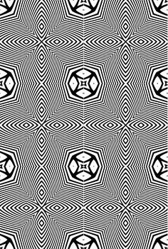 Coloriage adulte Motifs géométriques