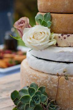 Our wedding cheese cake! Yum yum!