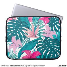 Choose from a variety of Elegant laptop sleeves or make your own! Shop now for custom laptop sleeves & more! Custom Laptop, Leaf Background, Best Laptops, Personalized Products, Laptop Sleeves, Your Photos, Looks Great, Tropical, Leaves