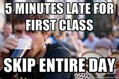 Funny pictures about Lazy college senior. Oh, and cool pics about Lazy college senior. Also, Lazy college senior photos. Funny School Memes, School Humor, College Humor, College Life, College Works, Funny College, College Quotes, College Classes, Lazy Humor