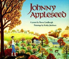 Rhymed text and illustrations relate the life of John Chapman, whose distribution of apple seeds and trees across the Midwest made him a legend and left a legacy still enjoyed today.