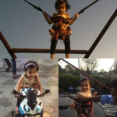 Mishka's 1st bungee jumping