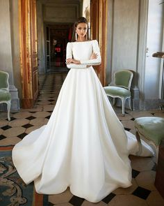Wedding Dress, Wedding Gown, Long Sleeve Wedding Dress, Wedding Planning Tips, B. Wedding Dresses 2018, Bridal Dresses, Dress Wedding, Wedding Ceremony, Hair Wedding, Dresses Dresses, Wedding Bells, Kohls Dresses, Wedding Rings