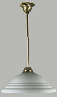 Antique Brass Aston Rod Set Light with Vaso Glass Pendant Lighting, Chandelier, Lighting Ideas, Antique Brass, Art Deco, Ceiling Lights, Contemporary, Antiques