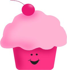 Adorable free cipart! A must website for teachers...Pink Cupcake