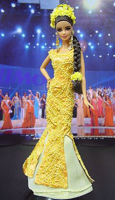Barbie NiniMomo's Miss Tahiti 2011