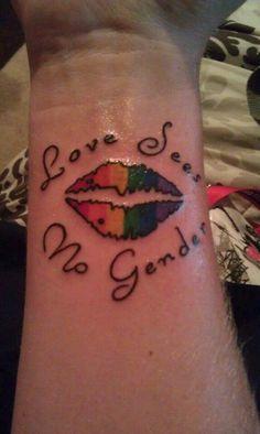 Lesbian Tattoo Ideas 71
