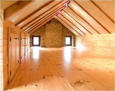 Make storage room for finished attic
