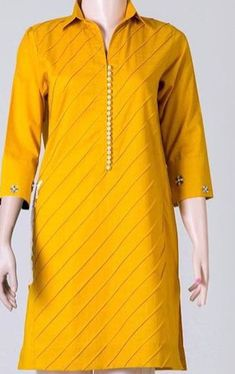 Simple Kurti Designs, Kurti Neck Designs, Dress Neck Designs, Kurta Designs Women, Kurti Designs Party Wear, Blouse Designs, Pakistani Fashion Party Wear, Pakistani Dresses Casual, Pakistani Dress Design