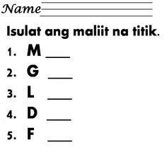 Tagalog, Filipino, Mtb, Worksheets, Names, English, Math Equations, Friends, Amigos