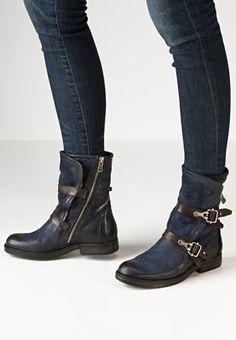 Chaussures A.S.98 Santiags - blu/testa di moro bleu: 244,95 € chez Zalando (au…