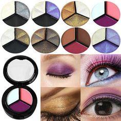 Eye Shadow Beauty & Health Multipurpose Shimmer Glitter Eye Shadow Powder Palette Matte Eyeshadow Cosmetic Makeup Life Paleta Sombras Focallure Ucanbe A25 Elegant Shape