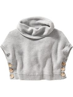 Old Navy | Metallic Funnel-Neck Capelet Sweater for Baby