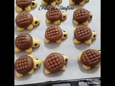 Kaplumbağa Kurabiye Nasıl Yapılır? Tarif için: http://www.sosyaltarif.com/kaplumbaga-kurabiye/