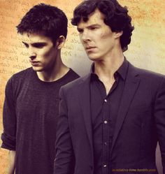 "Merlin (Modern AU) and Sherlock: Sherlock Holmes is a man of logic. Everything has an explanation; there are no exceptions. But, when his son, Merlin, starts making strange things happen, logic gets thrown out the window. How will Sherlock cope in a world beyond his understanding? Something written in the history books about an old man with the same name may help uncover the truth about these ""supernatural"" occurrences."