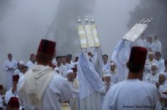 PHOTO: Prayers and pilgrimage in Samaritan Mount Gerizim in occupied #Palestine&#039