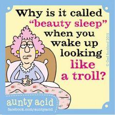 Why is it called 'beauty sleep'