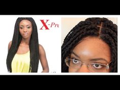 Box Braid wig REVIEW! | Outre Xpression Lace Wig (Box Braid Large) - YouTube