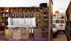 """Heteruf Designs: Loft """"Box House"""" Estilo Ecléctico Vintage"""
