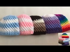 This crochet hat design will help you to make beautiful crochet hat for kids. Before I been made same pattern crochet hat for adults & babies in this video I. Easy Crochet Hat, Crochet Baby Beanie, Crochet Kids Hats, Knitted Hats, Baby Booties Knitting Pattern, Loom Knitting, Baby Knitting, Summer Knitting, Crochet Flowers