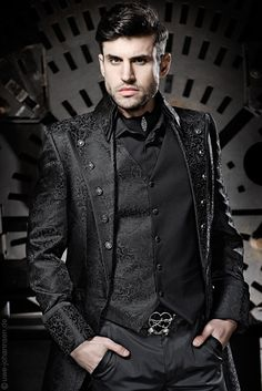 Mens victorian/steampunk fashion