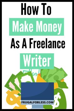 Looking for ways to make money, as a freelance writer? Here we list the necessary steps and tips that you need to get started. We've also included how to find gigs online. The great thing about freelance writing is you can work from home - or anywhere! Make Money Fast, Make Money From Home, Make Money Online, Online Earning, Online Writing Jobs, Freelance Writing Jobs, Single Mom Jobs, Money Making Websites, Legitimate Online Jobs