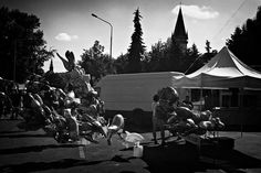 Picture, urban, fair, balloons, bardejov  //  bwstock.photography/urban.html