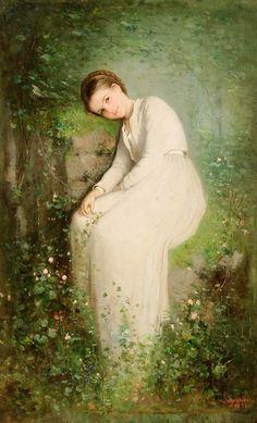 Nicolae Grigorescu - O floare intre flori