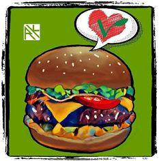 I 💗 Veggieburguer . Blog do Raphael Koizo http://raphaelkoizo.wordpress.com . #rkarts #raphaelkoizo #tatuagem #tattoo #arte #art #ilustração #illustration #gravura #picture #desenho #drawing #design  #rascunho #draft #esboço #sketch #vegan #veganfoodporn #veggieburger #inktober #inktober2016 #day12  Yummery - best recipes. Follow Us! #veganfoodporn