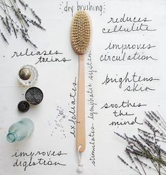 Beauty Rituals: The Benefits Of Dry Body Brushing | Free People Blog #freepeople