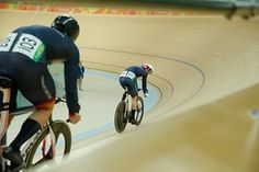 Jason Kenny checks out Callum Skinner.