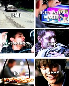 These are a few of Dean's favorite things - Supernatural