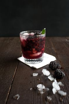 Blackberry Sage Bourbon Smash - Chez Us
