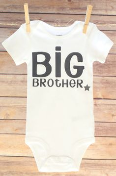26a59baf2 Big Brother Shirt Big Brother Outfit I'm the Big by OwenAndGwen Big Brother  Little