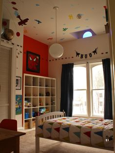 Kids +magnetic Paint + Cars Design, Pictures, Remodel, Decor and Ideas