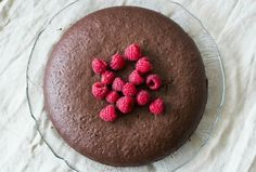 Glutenvrije chocolade taart