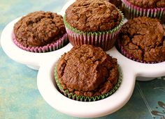 Hearty Carrot Scuffins (use flax egg to be vegan)