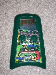 Teenage Mutant Ninja Turtles 3 Shredder's Last Stand LCD Handheld Game