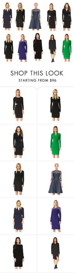 """""""black best tops collection"""" by monica022 ❤ liked on Polyvore featuring Velvet, Norma Kamali, Monique Lhuillier, AYR, J. Mendel, Oak and vintage"""
