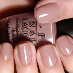 opi tickle me francey nude manicure