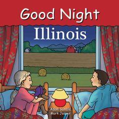 Good Night Illinois (Board book)