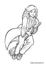 Harry potter colouring google search harry potter for Luna lovegood coloring pages