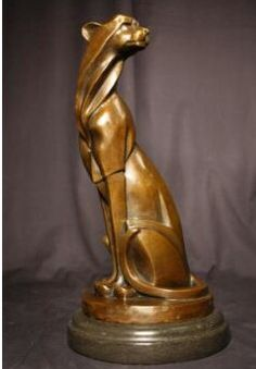 Art deco bronse