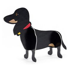 Dachshund Pop-Out This dachshund is made from heavy cardboard and approximately 5 high. Delivered in a flat pack this cute little dog is easy to assemble. (Barcode EAN=5032030100363) http://www.MightGet.com/january-2017-13/unbranded-dachshund-pop-out.asp